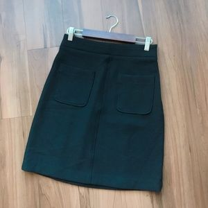 Ann Taylor Front Pocket A-Line Skirt NWT